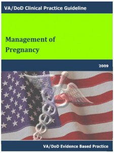 VA-DOD Pregnancy Mgmt guidelines