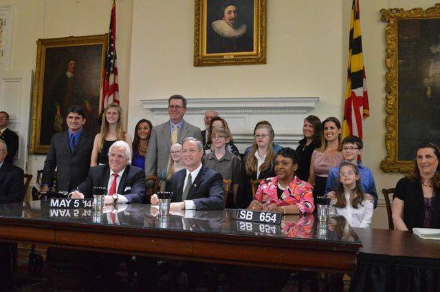 Gov. O'Malley signs Maryland's Down Syndrome Information Act